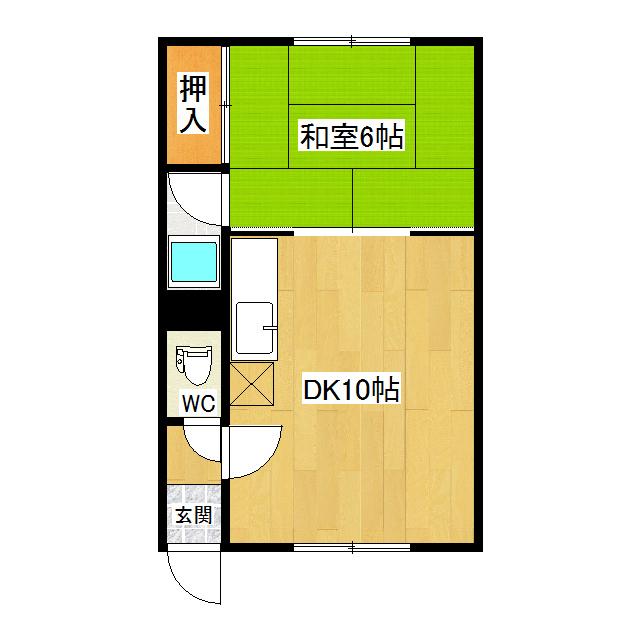 ポプラハイツ 2-B号室