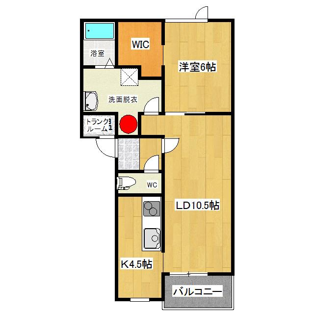 ラビスタ文京 1-B号室