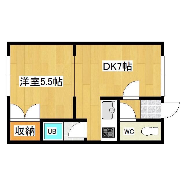 西富5号マンション 105号室
