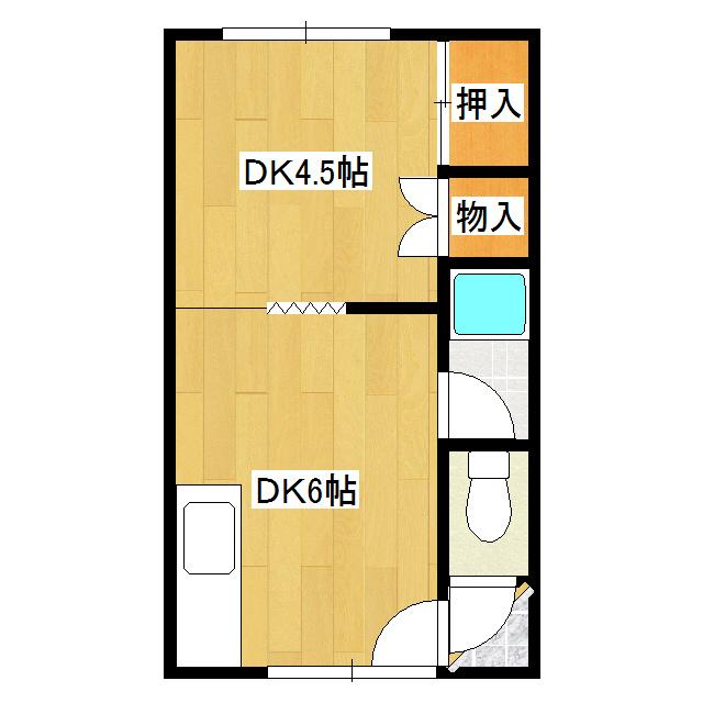 第18日研ハイツ 202号室