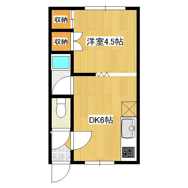第20日研ハイツ 205号室