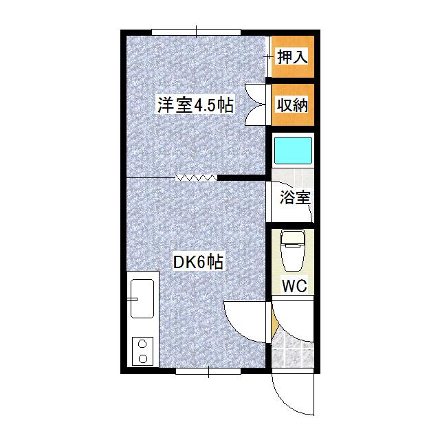 第20日研ハイツ 201号室