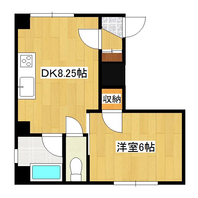 ライズビル 408号室