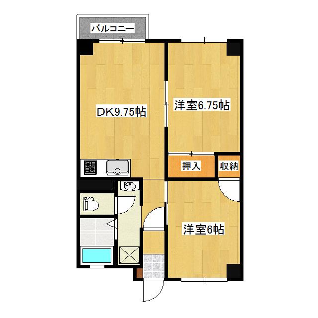 ライズビル 405号室