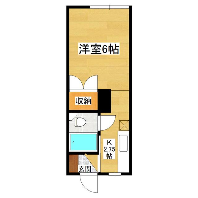 美幸マンション 206号室