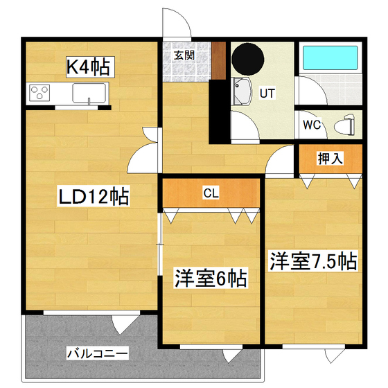 レジデンス宮田2号館 502号室