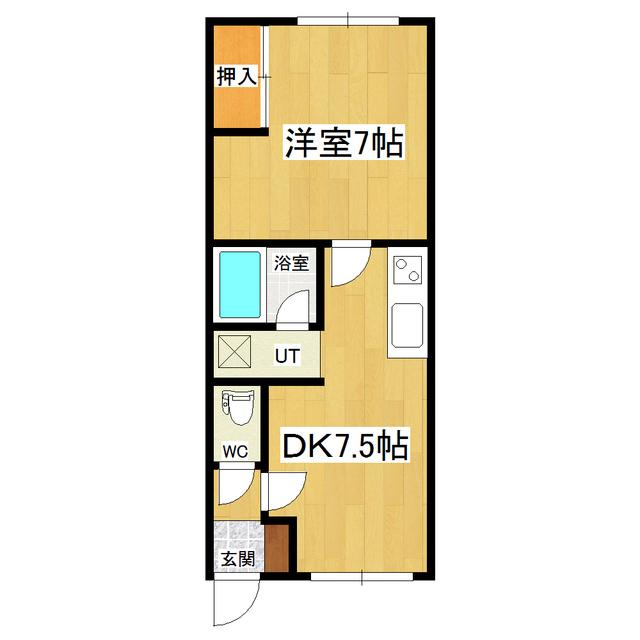 メリーハイツ 205号室
