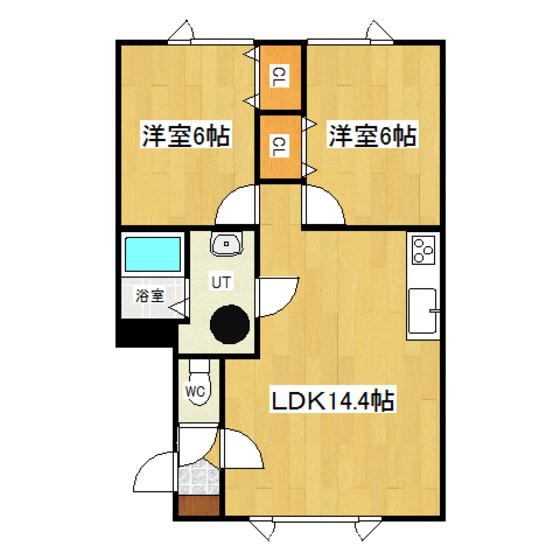 リバティパオ 1-A号室