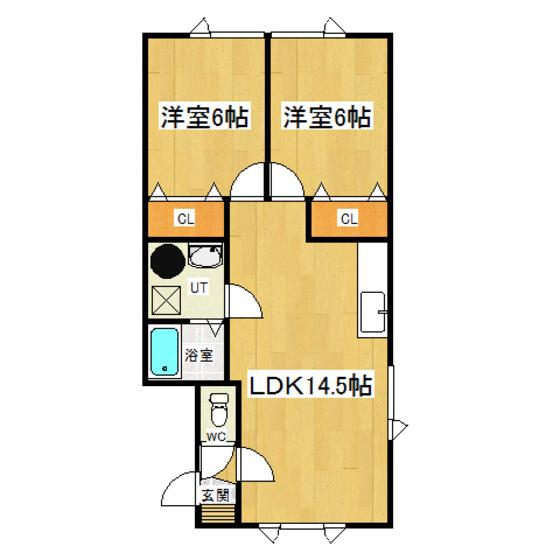 コーポ・サンライズI 1-C号室