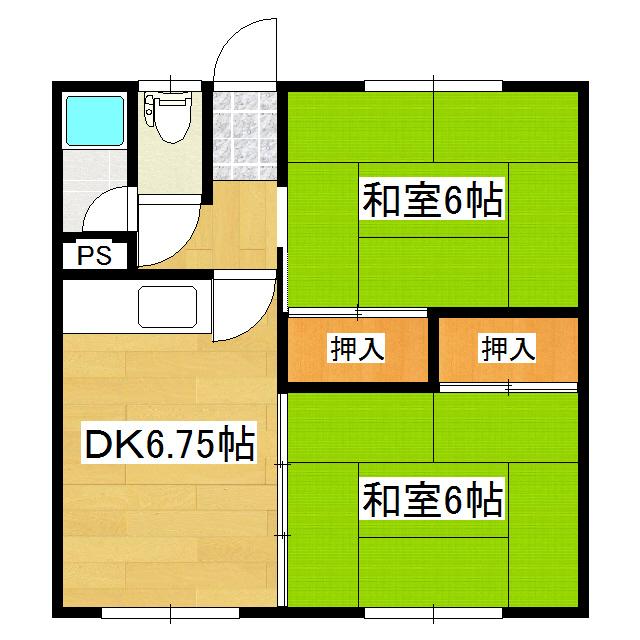 コスモハイツ 12号室