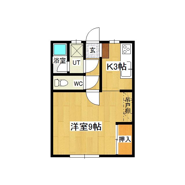 コーポグリーンタウン 101号室