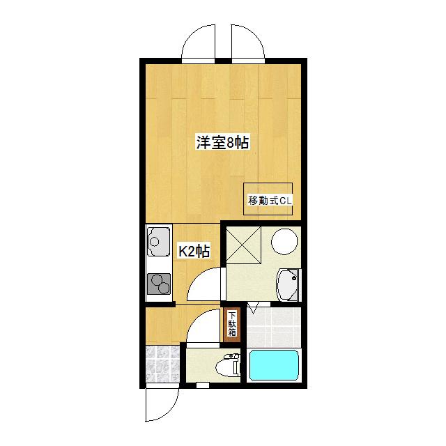 La-FloraIII(ラ・フローラスリー) 2-D号室