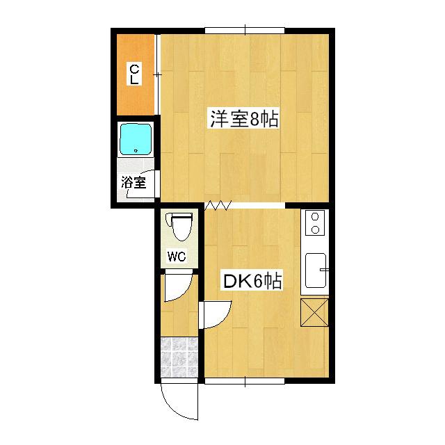 ネージュマンション 205号室