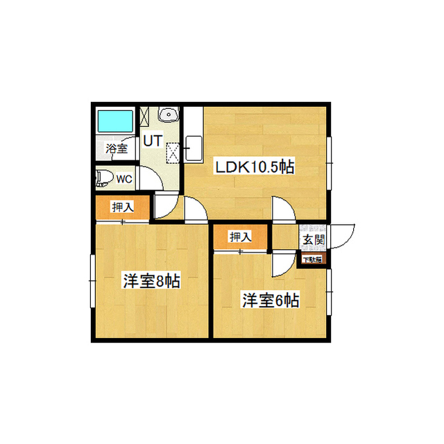 コーポヒルズ 1-B号室