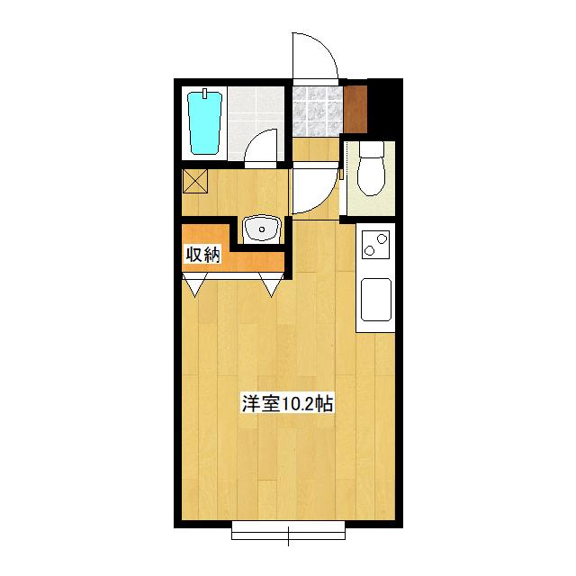 カレッヂタウンIII 104号室