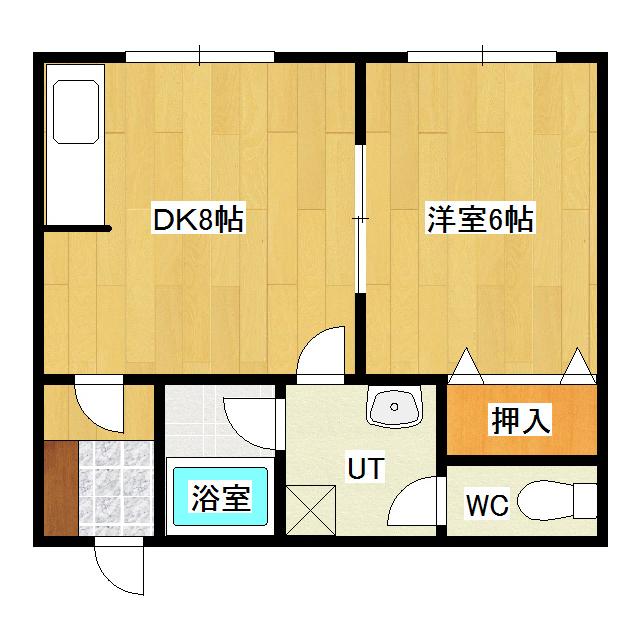 サンハイツ1 203号室