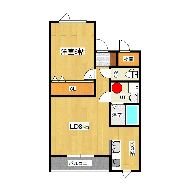 ラス・アルトラス 303号室