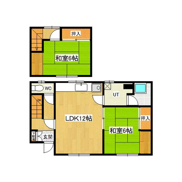 青山北幸田貸室 2号室