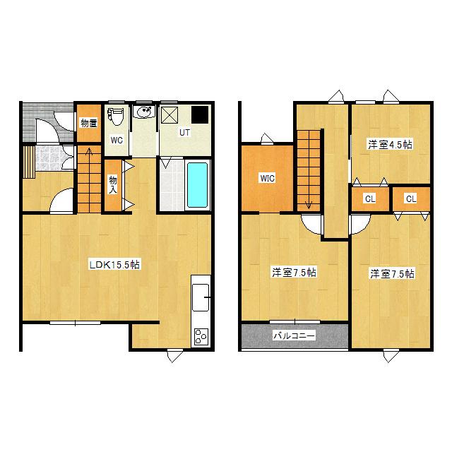 タウンハウスサルビアI 1-1号室
