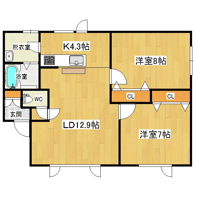コーポアーバンII 102号室