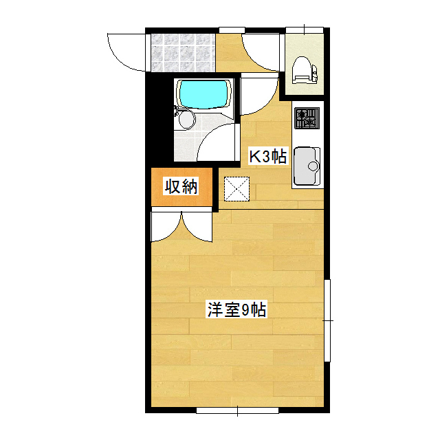 リアンジュ 1号室