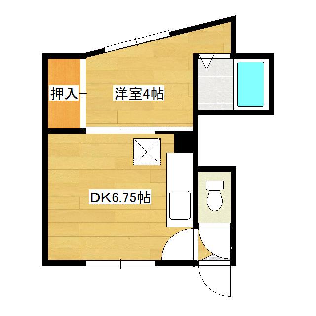 たんぽぽハイツ 6号室