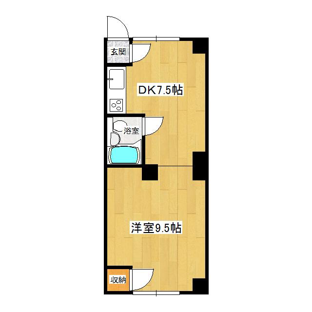 ホワイトキューブ 2-2号室