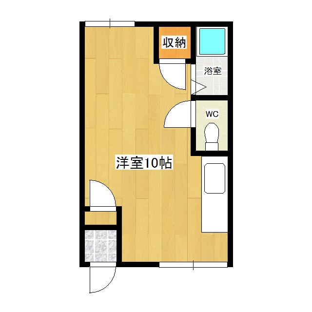 横山ハイツ 206号室