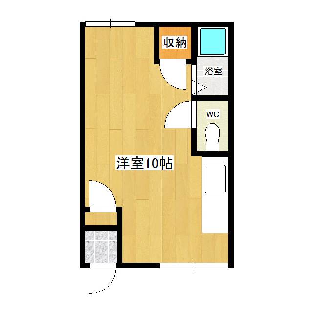 横山ハイツ 101号室