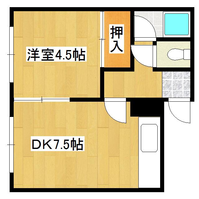 バリュー美芳 3号室