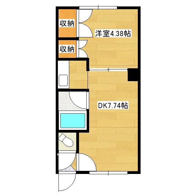 本町コーポ 3号室