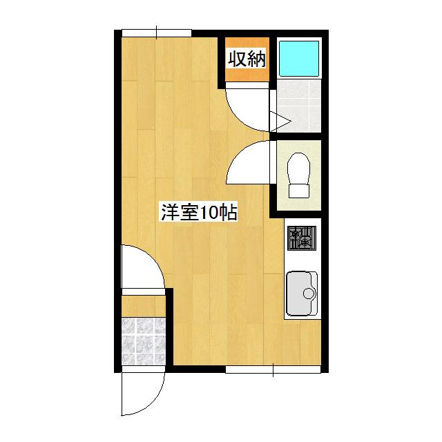 オリス美芳 104号室