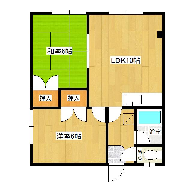 グリーンハイツI 201号室