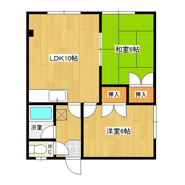 グリーンハイツI 202号室