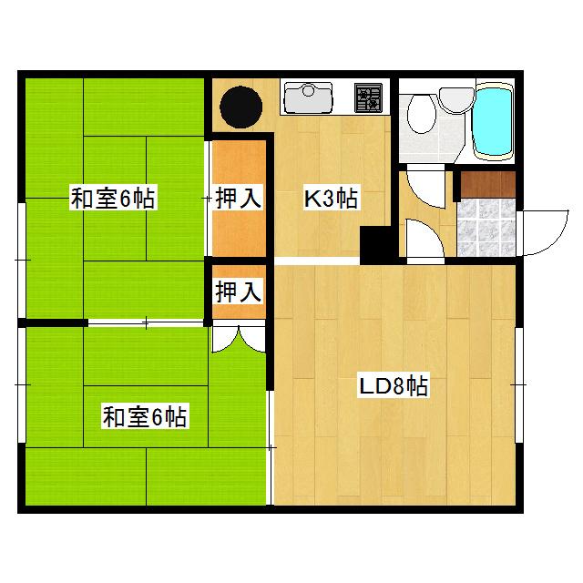 佐伯マンション 2号室