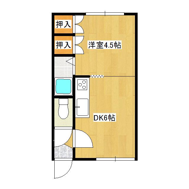 コーポ幸 101号室
