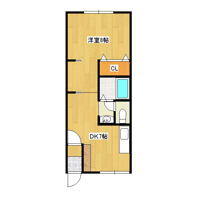 オリス山下A 205号室