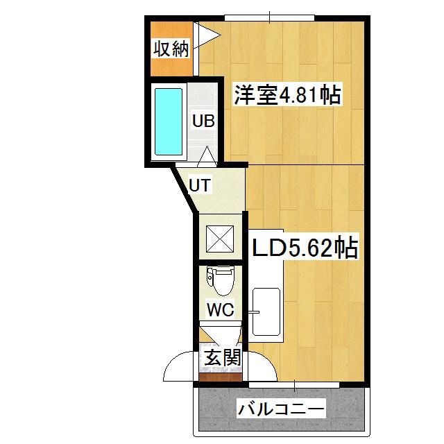 グリーンハイツ 303号室