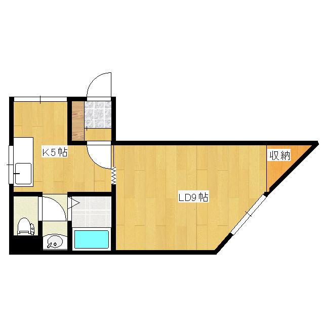オリス山下B 104号室