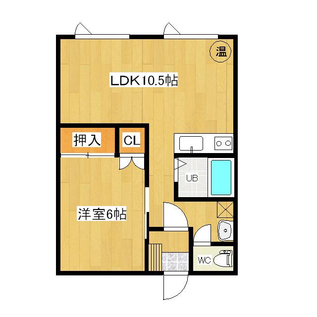 三条ハイツ 1-1号室