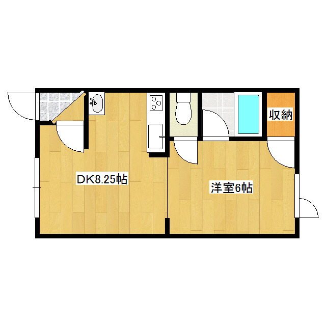 錦ハイツ 203号室