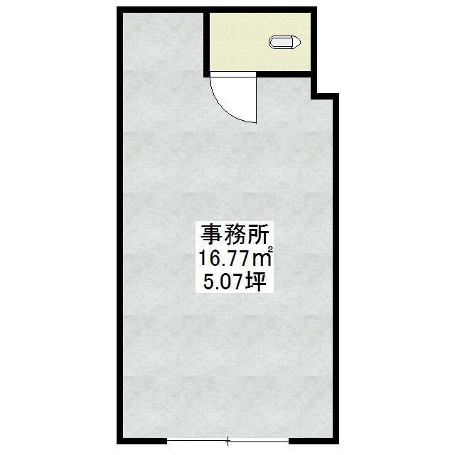 コーポムカ川 1F号室