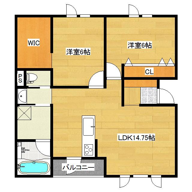 イルマーレT-2 1-A号室