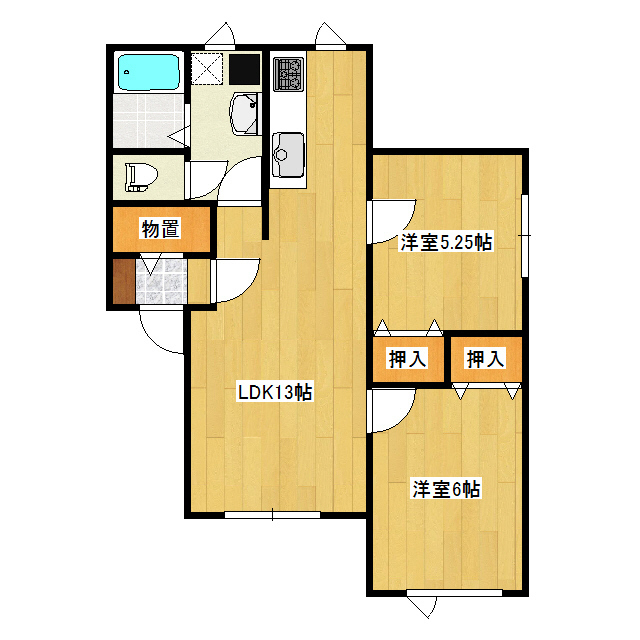 メゾン・リベルテ 3(202)号室