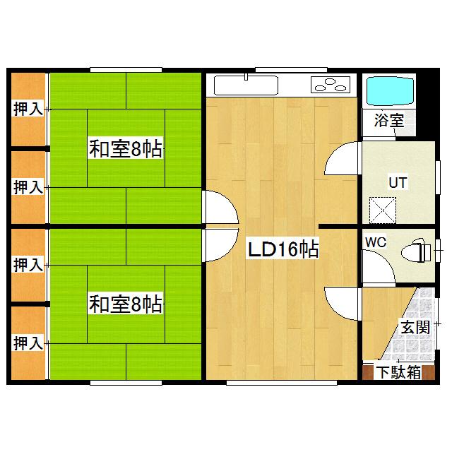 青葉1丁目20番地2貸家 1号室