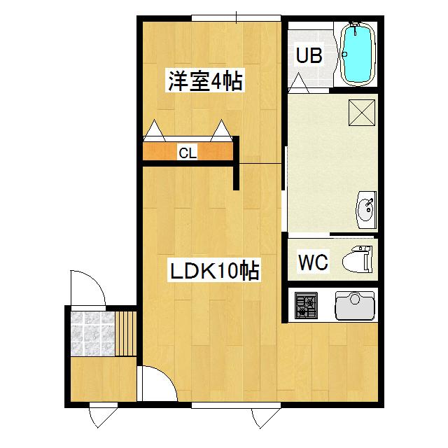 コーポワコ 1-C号室