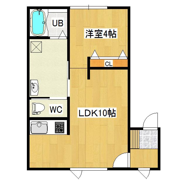 コーポワコ 2-B号室