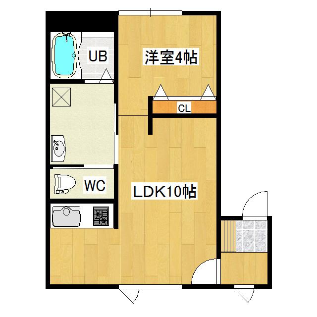 コーポワコ 2-D号室