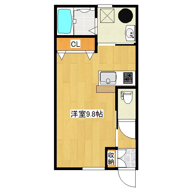 Avenir I 1-E号室