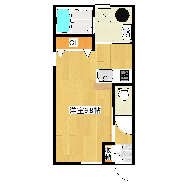 AvenirI 1-E号室